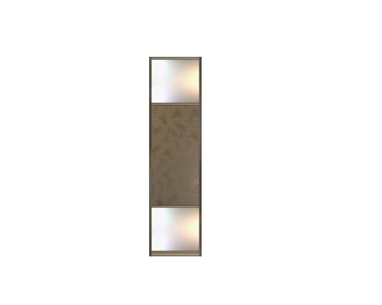 Зеркало-Стекло с плёнкой-Зеркало