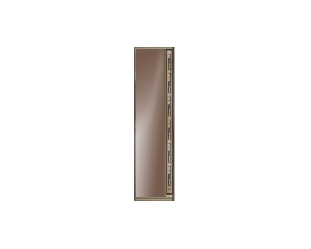 Зеркало бронза — Пескоструйная гравировка