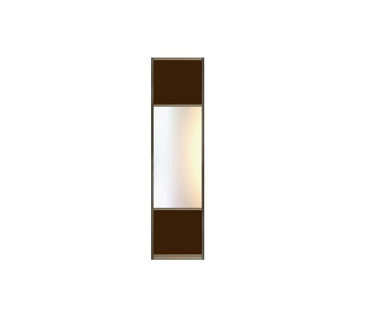 Модель 13 Стекло с плёнкой-Зеркало серебро-Стекло с пленкой 550 мм