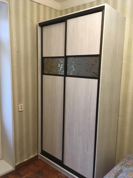 Шкаф-купе 2-х створчатый Дуб Млечный