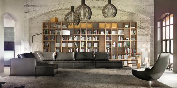 Стеллаж для книг-библиотека Бунтари