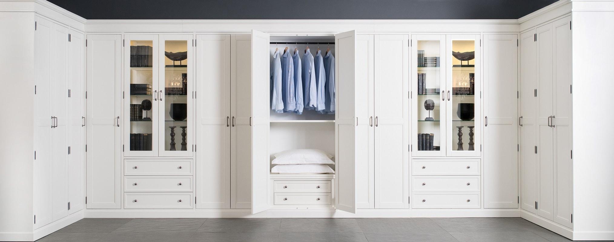 Система гардеробных шкафов