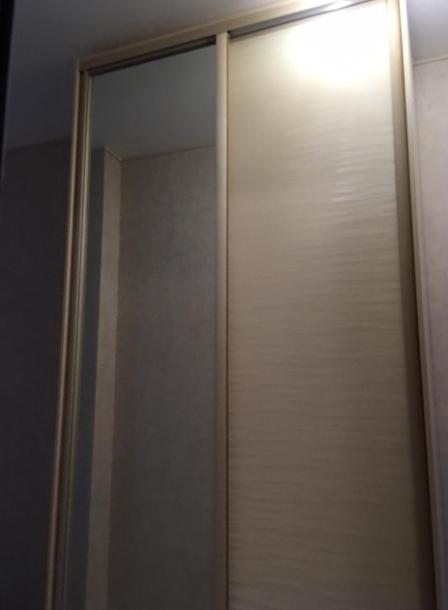 Шкаф-купе 2-х створчатый Бежевый Песок Дюна