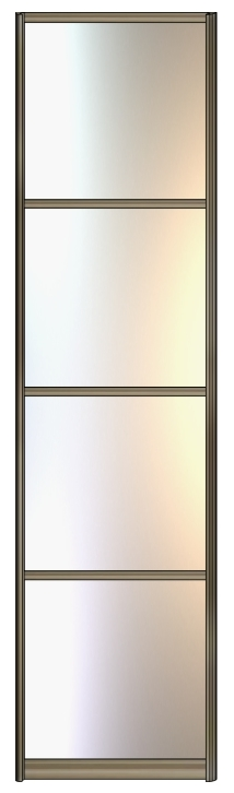 Модель 18 Зеркало серебро разделение 730 мм