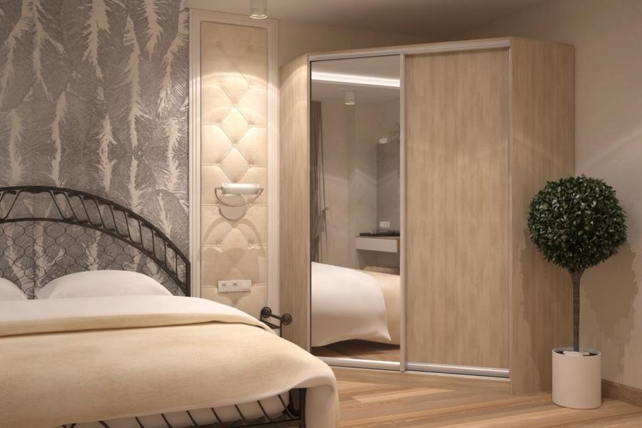 Спальня — шкаф угловой 1448х1448мм