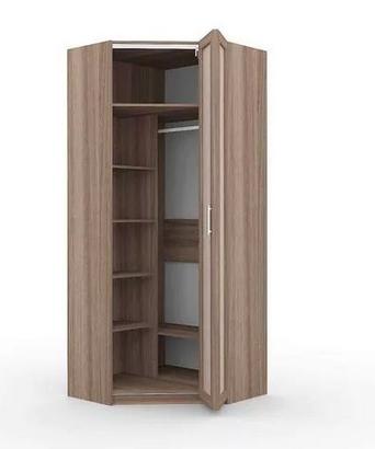 Угловой шкаф со складными дверьми 2412х1019х1019х405х405 мм