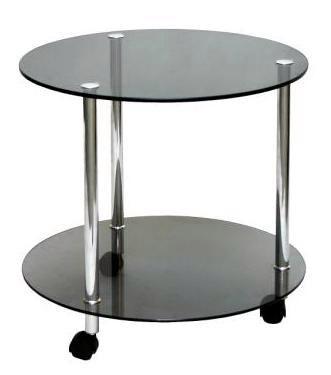 Журнальный стол Круг 1 стекло