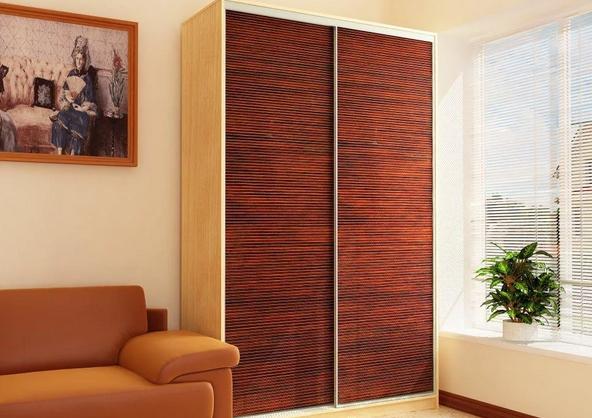 шкаф-купе двери бамбук