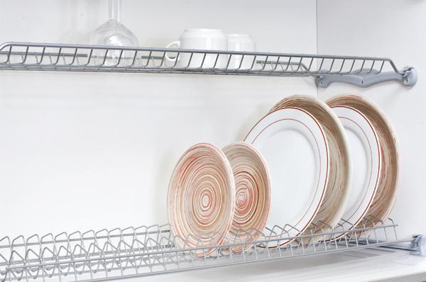 сушка двухуровневая для посуды