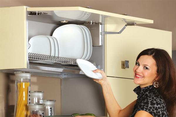 одноуровневая сушка для посуды