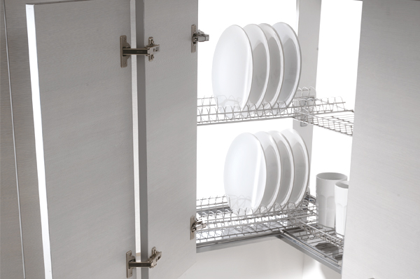 угловая сушка для посуды