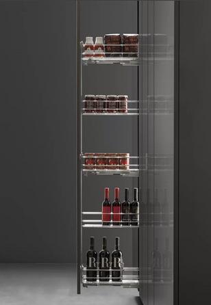 выдвижная колонна 5 уровней для кухни