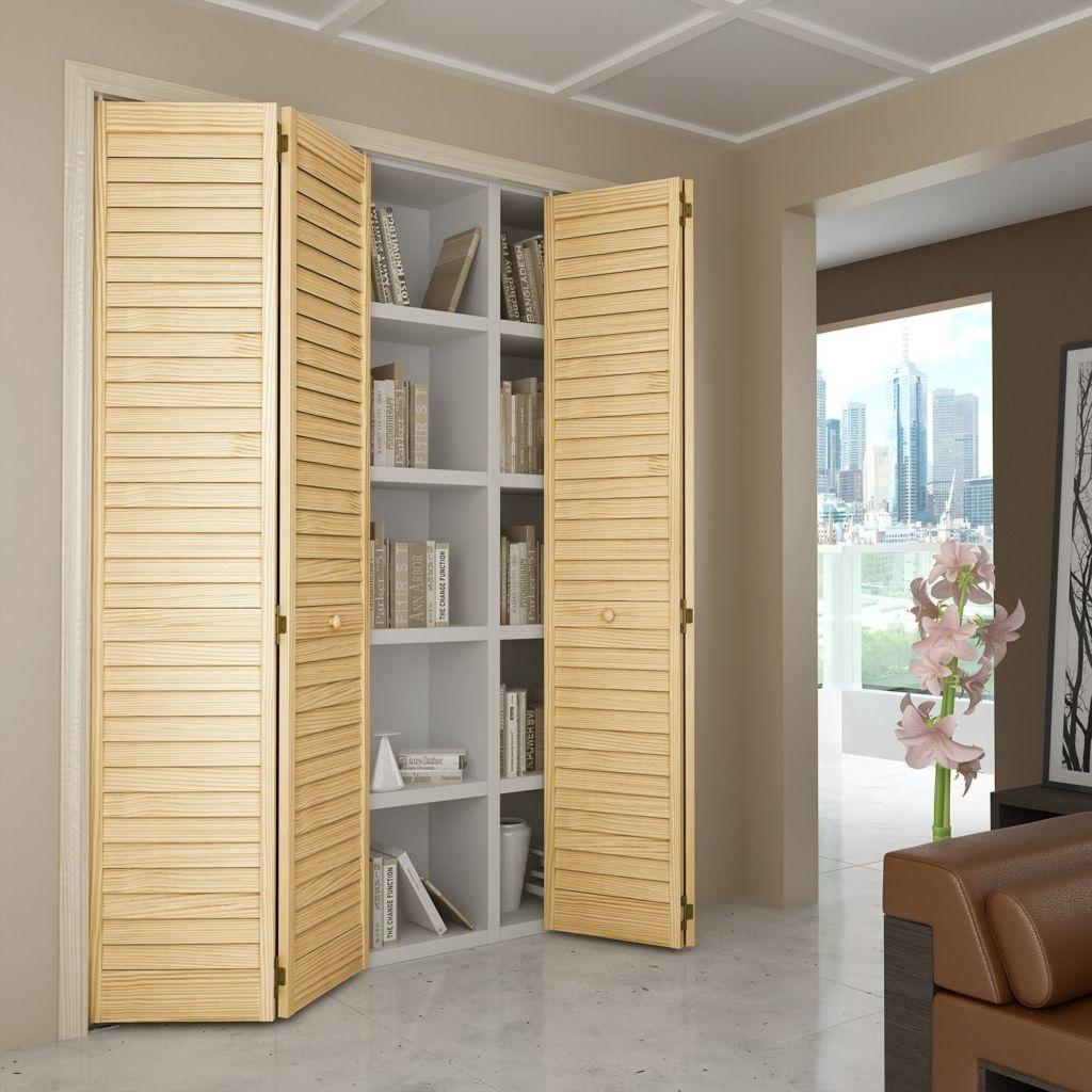 шкаф со складными дверьми