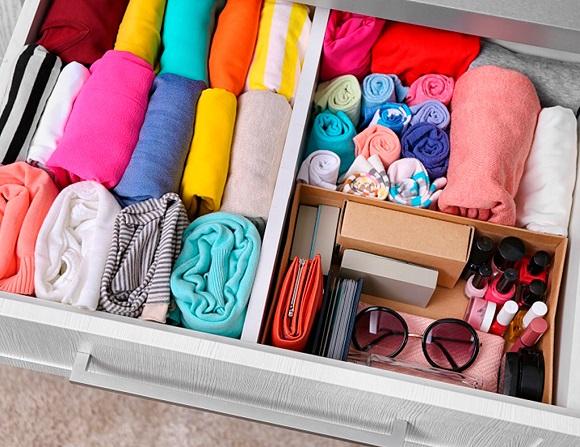 Хранение женского белья
