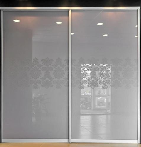 шкаф-купе стеклянные двери