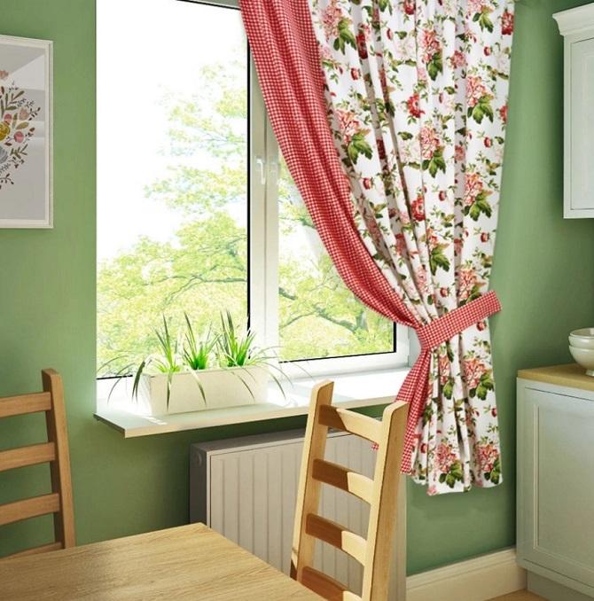 Уютное окно на кухне