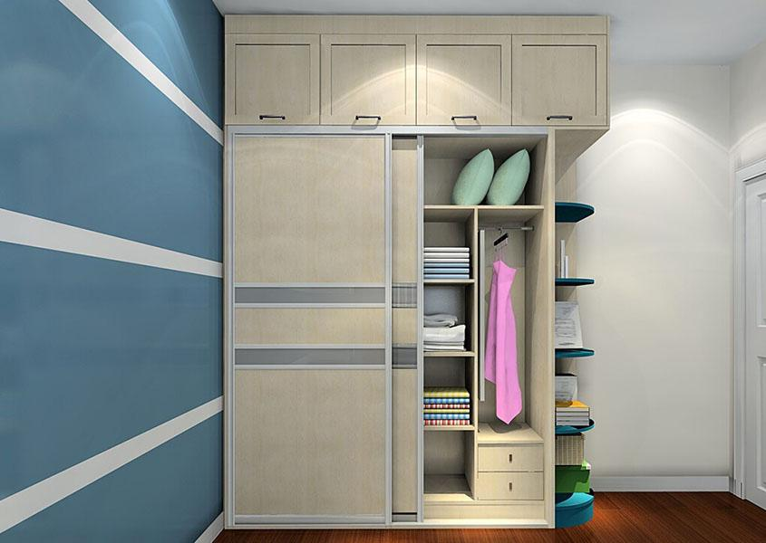 Шкаф с антресолями